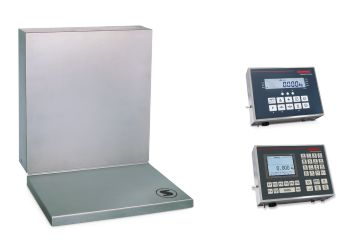 Wall-mounted scales
