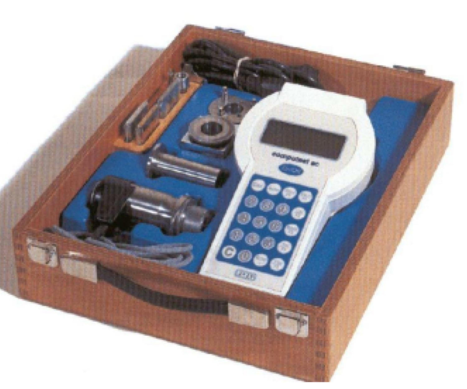 Portable industrial hardness testers with digital read-out